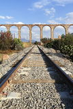 Aqueduct of Padre Tembleque VIII. The Aqueduct of Padre Tembleque was the most important hydraulic project of the colonial period. State of mexico, mexico Royalty Free Stock Photo