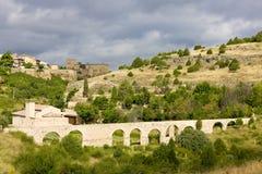 Aqueduct, Pedraza de la Sierra Stock Images