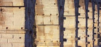 Aqueduct, Pont Du Gard, France Royalty Free Stock Image