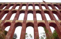 Aqueduct Puente del Aguila, Nerja, Ισπανία Στοκ Φωτογραφίες
