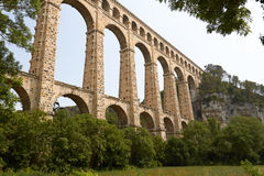 Aqueduct Roquefavour in Provence Royalty Free Stock Photo