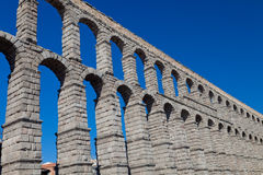 Aqueduct of Segovia Royalty Free Stock Images