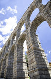 Aqueduct of Segovia Stock Photo