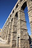 Aqueduct in Segovia Stock Images