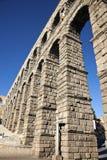 Aqueduct in Segovia. Spain, Europe stock images