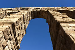 Aqueduct in Segovia Stock Photography