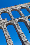 Aqueduct of Segovia Stock Image