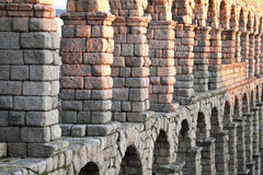 Aqueduct in Segovia Stock Photos