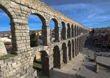 Aqueduct Segovia Royalty Free Stock Photos