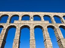 Aqueduct of Segovia Stock Image