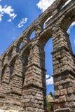 Aqueduct in Segovia, Castilla y Leon, Spain. Royalty Free Stock Photography