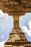 Aqueduct in Segovia, Castilla y Leon, Spain. Royalty Free Stock Images