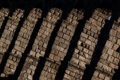 Aqueduct of Segovia. Castilla y Leon. Spain Royalty Free Stock Image