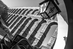 Aqueduct of Segovia. Castilla y Leon. Spain Royalty Free Stock Photos