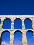 Aqueduct of Segovia detail Royalty Free Stock Photo