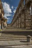 Aqueduct of Segovia 2 Royalty Free Stock Photos