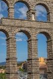 Aqueduct of Segovia 5 Stock Photo
