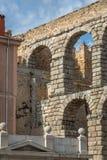 Aqueduct of Segovia 6 Royalty Free Stock Image