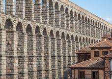 Aqueduct of Segovia 8 Royalty Free Stock Photo