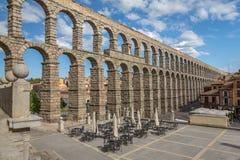 Aqueduct of Segovia 9 Stock Images