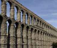 Aqueduct  in Segovia Spain Stock Photography