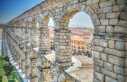 Aqueduct, Segovia, Spain Royalty Free Stock Images