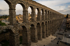 Aqueduct in Segovia Royalty Free Stock Photos