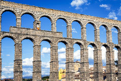 Aqueduct of Segovia Stock Photos