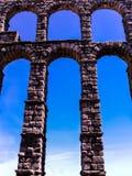 Aqueduct of segovia Stock Photography