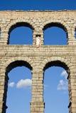 Aqueduct of Segovia Stock Images