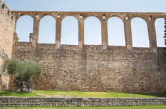 Aqueduct in Serpa, Portugal Stock Images