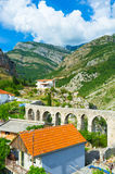 Aqueduct of Stari Bar Stock Photos