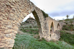 Aqueduct arches Royalty Free Stock Photos