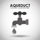 Aqueduct tap Royalty Free Stock Images