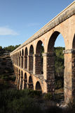 Aqueduct in Tarragona, Spain Royalty Free Stock Images