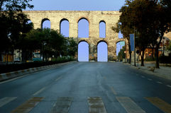 The Aqueduct of Valens, Istanbul Royalty Free Stock Photo