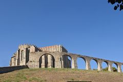 Aqueduct, Vila do Conde, Douro Region, Northern Portugal Stock Photography