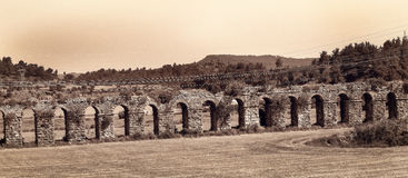 Aqueducts Stock Photography
