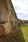 Aqueduto da Amoreira, Elvas,葡萄牙 免版税图库摄影