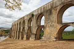 Aqueduto DA Amoreira, Elvas, Portugal Image stock