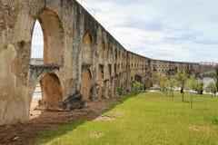 Aqueduto da Amoreira, Elvas, Portugal Stock Photos