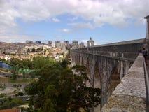 Aqueduto de Lisboa Fotografia de Stock