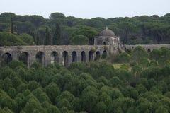 Aqueduto de Pegoes Tomar Πορτογαλία Στοκ φωτογραφία με δικαίωμα ελεύθερης χρήσης