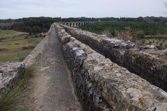 Aqueduto de Pegoes Tomar Portugal Lizenzfreie Stockfotos
