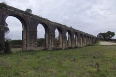 Aqueduto De Pegoes Tomar Portugalia Zdjęcia Stock