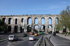 Aqueduto de Valens em Istambul Foto de Stock Royalty Free