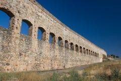 Aqueduto do St. Lazaro de Merida (Emerita Augusta) Foto de Stock