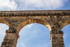 Aqueduto dos les Ferreres em Tarragona fotos de stock royalty free