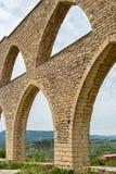 Aqueduto em Morella Foto de Stock