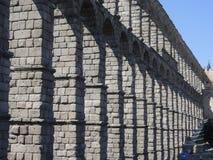Aqueduto em Segovia, Spain Fotografia de Stock